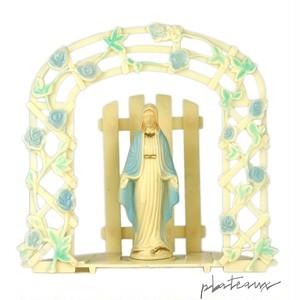 聖母マリア 薔薇の聖堂 プラスチックフィギュア 箱付
