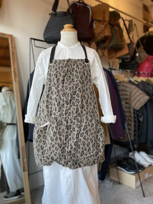 suolo GRIZZLY apron leopard sand