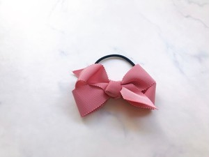 medium hair bow【antique rose】