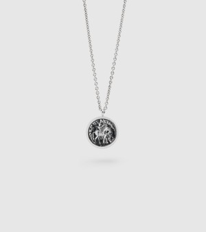 TOMWOOD / coin necklace silver