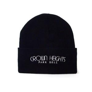 PARK DELI - CROWN HEIGHTS KNIT CAP (Black)