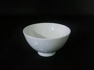 【井上祐希作】釉滴飯碗(中)GRAY