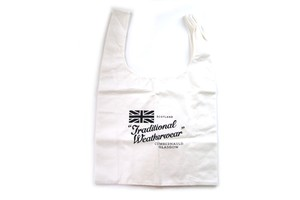 トラディショナルウェザーウェア|Traditional Weatherwear|エコバッグ|marche BAG|ホワイト