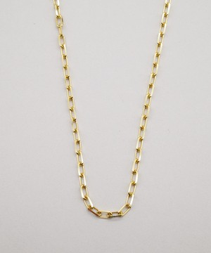 【ISOLATION / アイソレーション】SV925 Oval Cut Chain Necklace