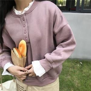 シフォン襟ニットセーター215