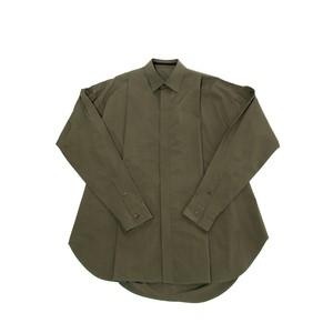 597SHM4-KHAKI / タックドシャツ