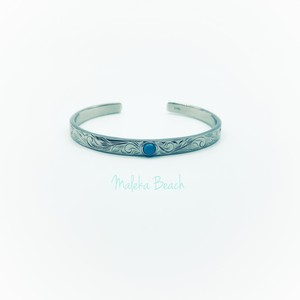 Hawaiian turquoise bangle