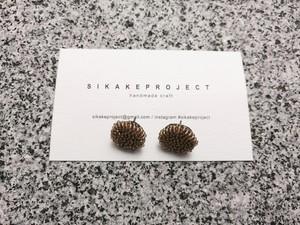 ● 受注生産 / beads embroidery pierce / earring 12