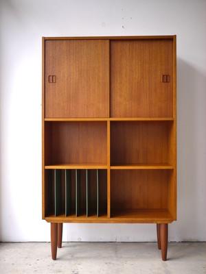 Teak book cabinet