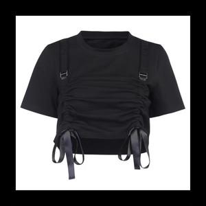 【お取り寄せ】サイバー ガール ベルトTシャツ