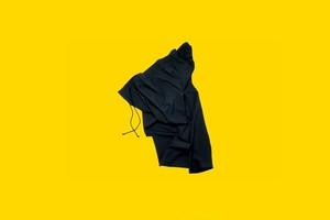 Gather pants  BLACK