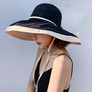 【小物】オススメ !日焼け対策 多い色展開 ファッション レディース 両面着用 帽子43314964