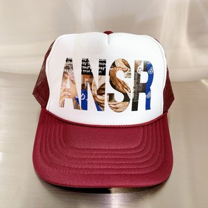 ANSWER COLLECTION / ANSR POP SMOKE GRAPHIC MESH CAP