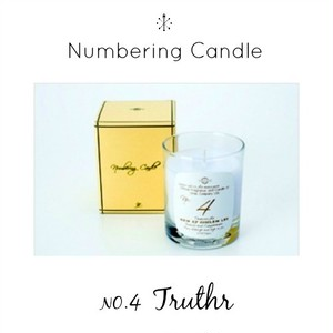 Numbering Candle NO.4