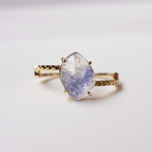 Dumortierite in Quartz Ring(R245-DU)
