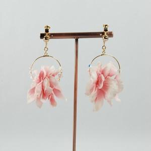 spring flowerイヤリング~ピンク~