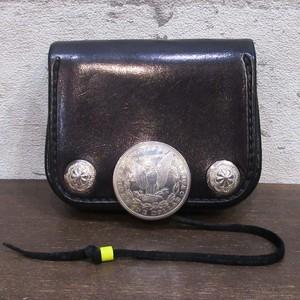GOROS コンチョカスタム角型小銭入れ 黒 ※超美品
