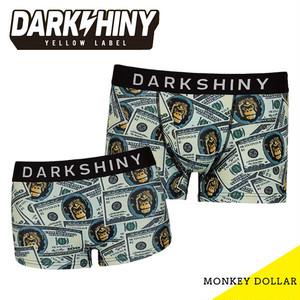 【DARK SHINY】【ペア】MONKY DOLLAR / YLMM41&YLLB25 ダークシャイニー イエローラベル メンズ レディース ボクサー パンツ