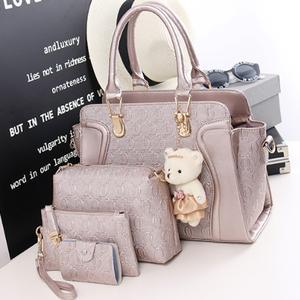 【バッグ】4点セットレディースファッションかばん可愛いハンドバッグ33630558