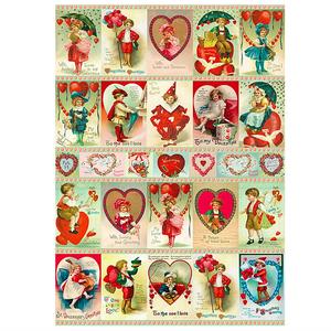 *送料込み CAVALLINI カバリーニ デコラティブラップ ポスター バレンタイン