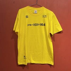 【ナンシー関口】Yama-Teシャツ(カナリア・S〜XL)