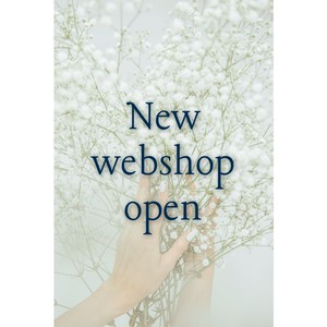 NEW WEB SHOP情報