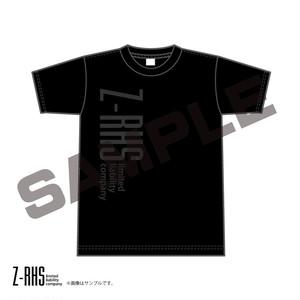 【大きいサイズ】Z-RHS(ズィ・アース)ロゴビッグプリントTシャツ(BLACK)