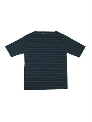 SAINT JAMES(セントジェームス)PIRIAC BORDER(ボーダー)NAVY/PIN  半袖Tシャツ【正規取扱品】UNISEX