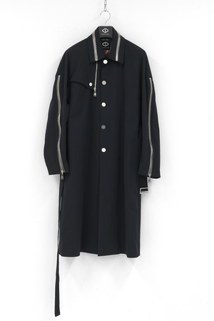 Zip GunFlap Trench Coat [20-21AW COLLECTION]