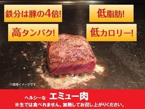 冷凍食肉エミュー フィレ(535g)