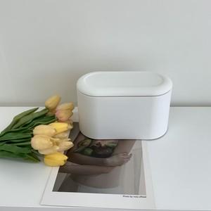 pastel minimal dust box 2colors / パステル ミニマル ダストボックス ゴミ箱 韓国 北欧 雑貨