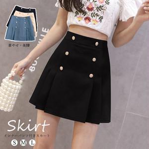 【即納】ミニスカート プリーツ 台形スカート|fa2098