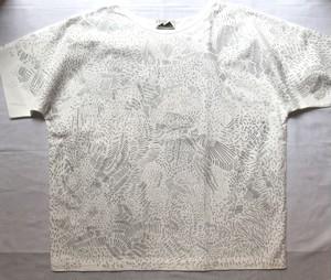 【ハンドメイドTシャツ】MMM MADE「FUHAKU-T HOSHIKUZU」布帛Tシャツ 一点物 フリーサイズ【作家作品】