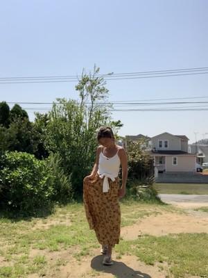 Leona Wild Flowers Tiered Skirt