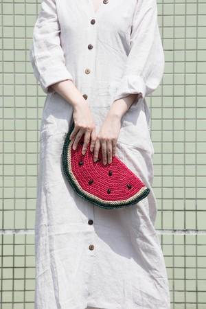 【MIKACHU WORLD】clutch bag (watermelon1)