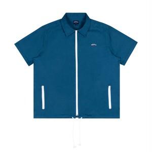 Zip Work Shirt(Teal)
