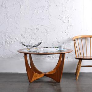 G-Plan Round Coffee Table / ジープラン ラウンド コーヒーテーブル / 1901-0016