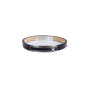 エンポリオアルマーニ EMPORIO ARMANI ブレスレット メンズ レディース EGS1923040 ブラック シルバー