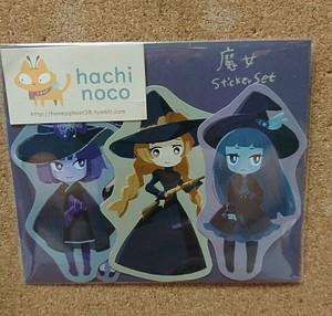 はちノコ 魔女Sticker Set