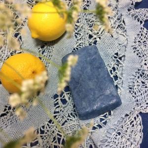 (018)藍石けん 《レギュラーサイズ》