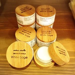 髪・財布・お札の浄化!ホワイトセージ ソリッドパフューム(練り香水)