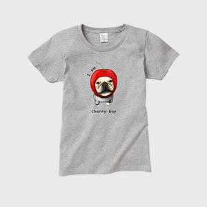 cherry boy レディースTシャツ