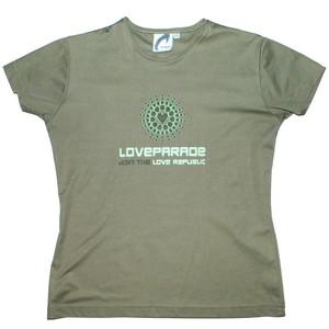 『LOVE PARADE』 2000 vintage stretch T-SHIRT