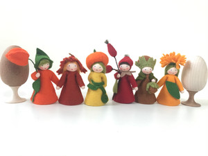 お花の妖精人形 6人セット