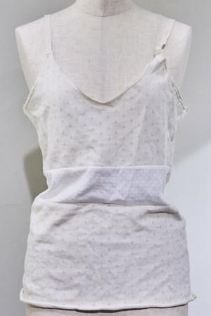 【thibaut2019AW】Nostalgic camisole