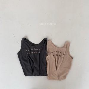 『翌朝発送』Lima sleeveless【baby】〈bella bambina〉