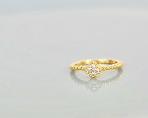 Flower pinky ring