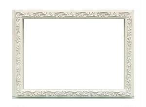 ホワイトフレームA5サイズ額縁サイズA5(212mm×150mm)窓枠サイズ202mm×140mm壁掛け用