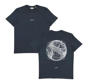 サスピシャスアントワープ The Voyager Shirt - Navy // White