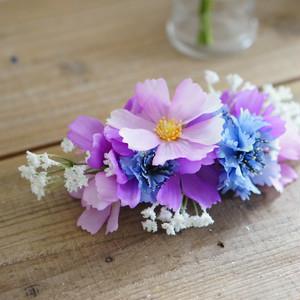 【ヘッドドレス】ブーケに合わせて等、お好きなお花でお作りします。